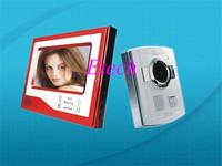 Free shipping LCD TFT Video door phone/ video intercom system nice 7inch door bell
