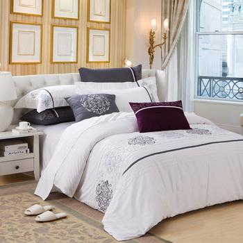100% cotton piece set bedding sheets duvet cover 100% cotton piece set
