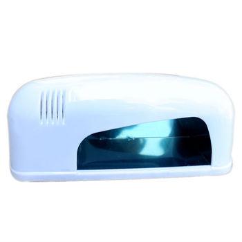 Chic Hot! 220V 9W Professional Nail Art Gel UV Lamp Light Dryer White YNA-0002