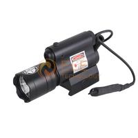 New 5mW Red Laser Sight Scope Flashlight 20mm Mount