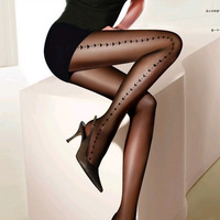Love jacquard pantyhose 20d fashion female stockings 6363