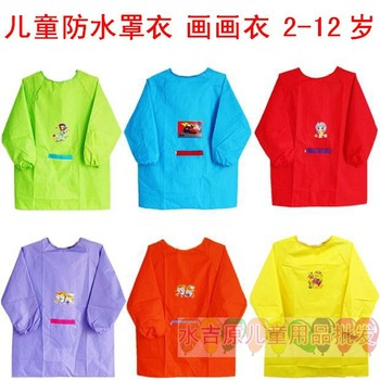 Waterproof child apron painting clothes x20 gowns, 2 - - 12