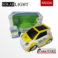 Free Ship New arrival Solar/USB charging Remote control car 4 channel remote control RC cars toy kids/children gift eco-friend