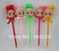 New arrival Cute girl doll pen girl ballpoint pen girl pencil