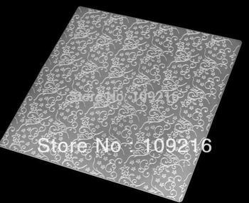 wholesale!1pcs Vines 50*50cm Silicone Fondant Imprint Mat Cake Decorative Pads Kitchenware Cake Decorating