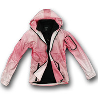2013 Free Shipping Original Women adhesive ultra-thin hooded outdoor jacket windproof water-proof and free breathing c-a763