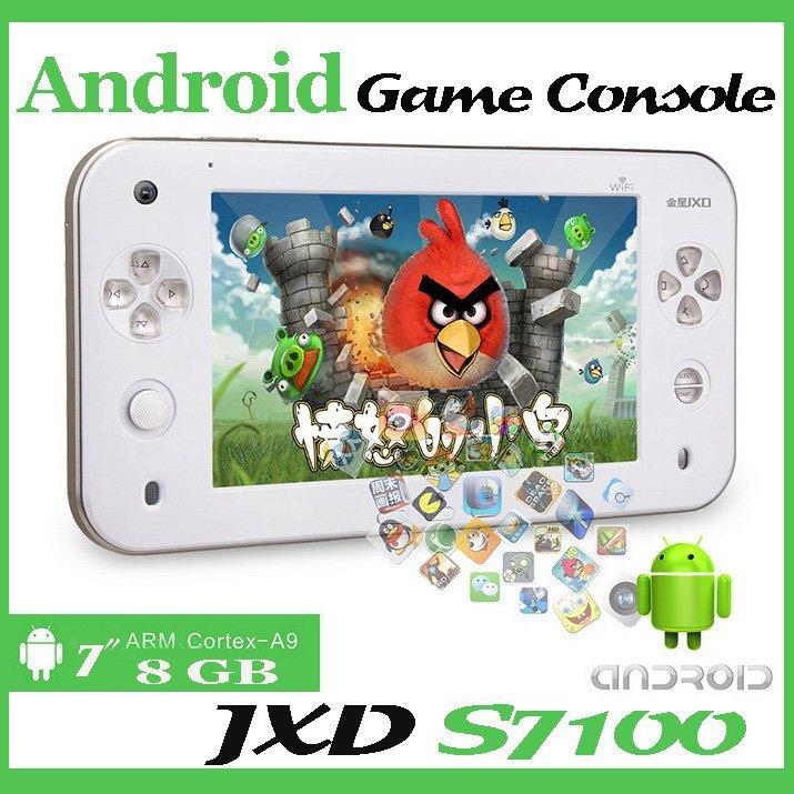 Портативная игровая консоль JXD Game Console 7/jxd S7100 /8gb Android 2.2 A9 10PCS/LOT briar mitchell lee game design essentials