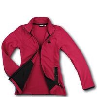 2013 Free Shpping Original Women quick-drying thermal soft shell stand collar fleece outerwear sweatshirt dk2-b833