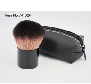 Min order9.9$(mix order)free shipping Short handle trimming tone paint brush Blush Brush mushrooms HZ0028(China (Mainland))