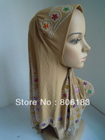 m1806 New Style Muslim Hijab Elegant Islamic Hijab Free Shipping By EMS or FEDEX