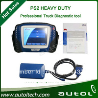 Professional PS2 truck diagnostic tool PS2 Heavy Duty 100% original+Online Update DHL Fast Free Shipping