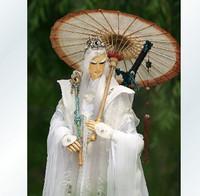 Oiled paper umbrella oiled paper umbrella handmade gift cosp props sword