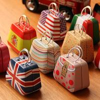 Free ship!20pc!Creative handbag bag iron Mini Storage small tin / coin box / candy box
