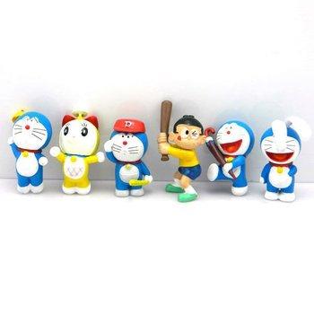 Wholesale Cheap Lovely Deraemon Sport Figure Action Toys 1 lot 10set Free Shipping ZZ105