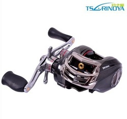 Free shipping Fishing reel Bait baitcasting fishing reel Right hand Trulinoya DM120RA One-way+10ball bearings 6.3:1 Gear Ratio(China (Mainland))