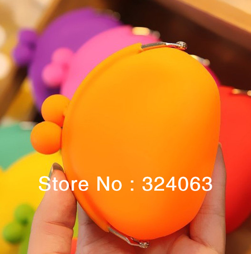 L-01 Stocks silicone coin purse(China (Mainland))