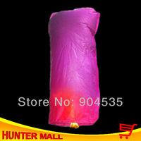Free shipping 10pcs/lot Cylinder chinese wishing balloon Ufo light sky lamp (Randomly ship Color)