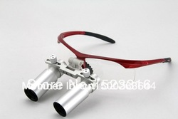 Free Shipping HOT SALES 6.0x Dental Binocular 500mm working distance Magnifier(China (Mainland))