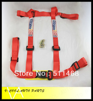 SPAR** Car Seat Belt/Harness/Racing Satefy Seat Belt/width:2 inches/4Point (black,blue,red)