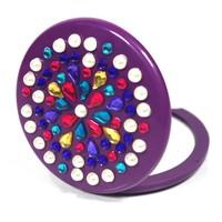 Free Shipping!!!Promotion Gift  diy stick toy shining makeup mirror
