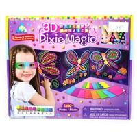 Promotion 3D magic EVA stick mosaics Gift handmade diy toy