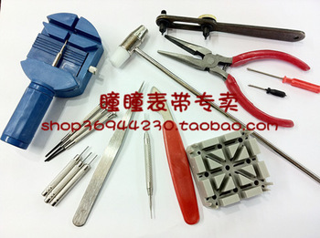 16Piece/set Deluxe Watch band Repair Tool Kit for Watchband Link Pin Remover