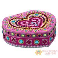 Girl gift heart jewelry box diy toy