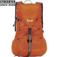 free shipping ultra-light waterproof bag travel bag mountaineering bag backpack female casual backpack orange