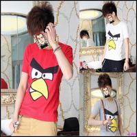 free shipping Male casual short-sleeve T-shirt slim male t-shirt basic short-sleeve o-neck short-sleeve t shirt