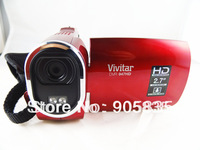 12Mega Pixel High definition camcorder+2.7'' screen+TV out+8X digital zoom+self timer+original brand+Image stabilizer+Hot
