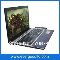 Newest 15.6 inch Laptop Intel D2600 2GB 320GB Dual-core Notebook Computer Windows 7 DVD-RW Built-in WIFI Camera