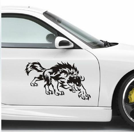 com buy custom wolf car decals stickers automotive graphics for car