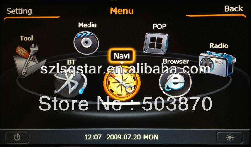 GPS music player for Suzuki Grand Vitara car stereo parts wifi radio receiver internet car audio(China (Mainland))