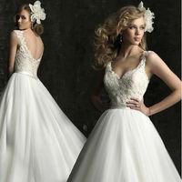 Free Shipping  New Arrival Lunar Bridal Wedding Dress,Wedding Gown