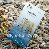 5 packs High Quality MX Fishing Sabiki Fishing Bait Lures Rigs Hook 1/0