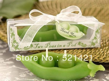 Small wedding wedding supplies wholesale candles birthday  valentine's day gift ideas peas candles