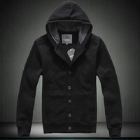2013 spring plus size plus size with a hood sweatshirt male spring outerwear cardigan men's clothing fleece clothing