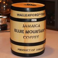 Wallenford original blue mountain coffee beans no.1 oafishness bottled 8oz 228g