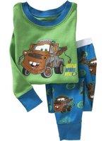 Free shipping 6sets/lot (1design x 6 sizes), Baby Pyjamas, Children Pyjamas, Children Sleepwear