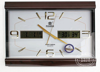 Overlooks wall clock overlooks calendar overlooks quartz clock quality living room clock