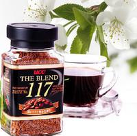 Original ucc 117 shangdaokafei 90g instant coffee sugar free pure black gold medal