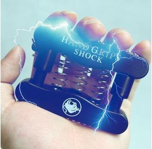 Hand Grip Electric Shock Toy Trick Halloween Christmas gift prank Joke Gag party free shipping 10pc/lot