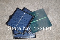 Hot  Sale! Mini Solar Cell 1 Watt  5.5 Solar Panel For Battery Charger DIY  Polycrystalline Solar Module 95*95 mm Free Shipping