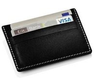 Stelton credit card holder stainless steel metal wallet money clip wallet kaka purse