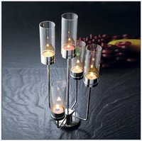 Candle table romantic mousse glass cover mousse valentine day gift