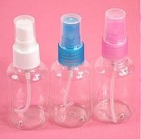 30 pcs/lot 30ml Plastic Bottle spray bottle small plastic bottle Refillable Bottles Make-up water bottom