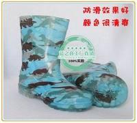 Rain boots slip-resistant child rain boots child crystal rain boots rainboots waterproof shoes