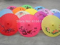 Chinese classical Sun umbrella dance decoration silk umbrella,Wedding decoration items,Free shipping