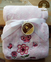 Carters baby blanket butterfly spring and autumn coral fleece baby blankets summer quilt