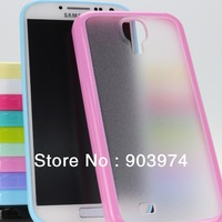 100pcs/lot Newest TPU+PC Case for Samsung Galaxy S4 I9500 Wholesale Free shipping by EMS/DHL